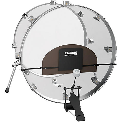 evans soundoff universal bass drum mute guitar center. Black Bedroom Furniture Sets. Home Design Ideas