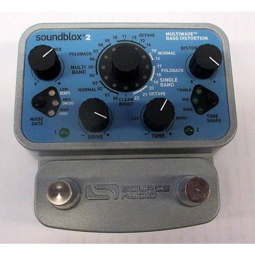 Source Audio Soundblox 2 Multi Wave Bass Distortion Bass Effect Pedal