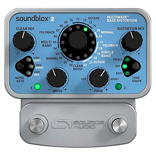 Source Audio Soundblox 2 Multi Wave Bass Distortion-thumbnail