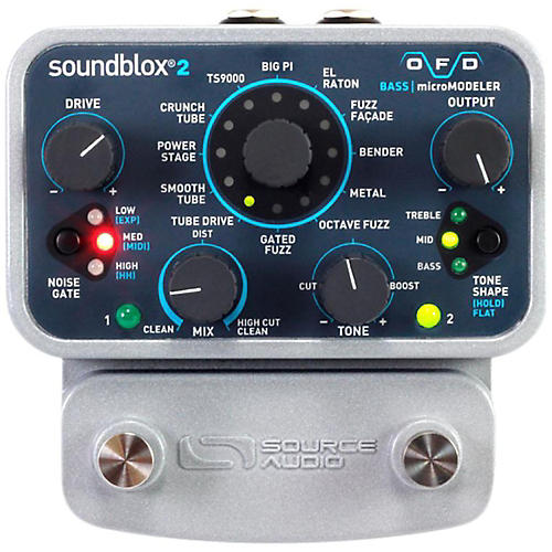 Source Audio Soundblox 2 OFD microModeler Bass Effects Pedal-thumbnail