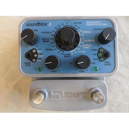 Source Audio Soundblox 2 SA221 Multiwave Bass Distortion Bass Effect Pedal