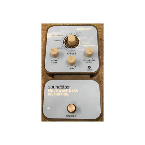 Source Audio Soundblox Multiwave Bass Distortion Effect Pedal-thumbnail
