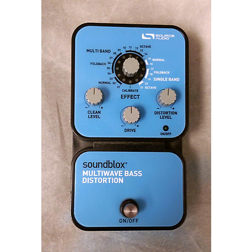 Source Audio Soundblox Multiwave Distortion Effect Pedal-thumbnail