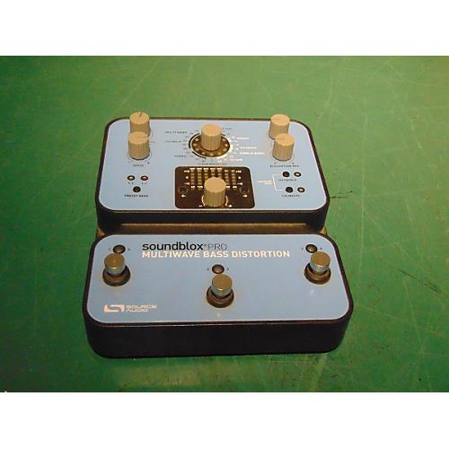 Source Audio Soundblox Pro Multiwave Bass Distortion Bass Effect Pedal-thumbnail