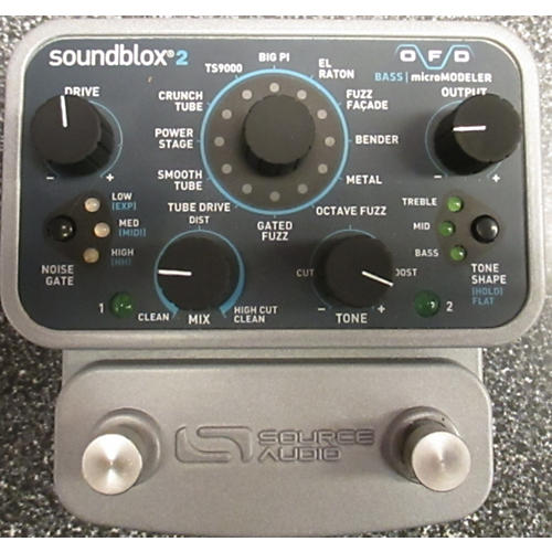 Source Audio Soundblox2 Bass OFD Effect Pedal