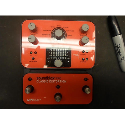 Source Audio SoundbloxPRO Classic Distortion Effect Pedal