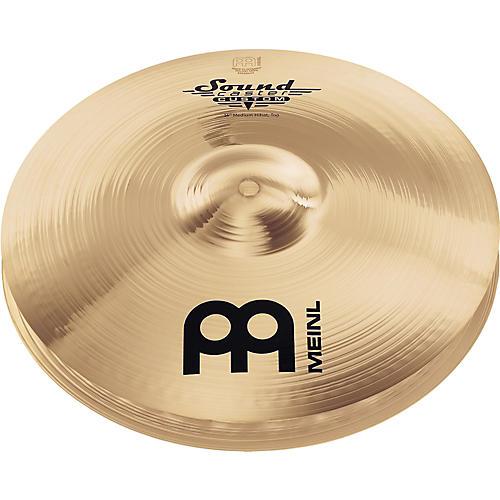 Meinl Soundcaster Custom Medium Hi-Hat Cymbals 13 in.
