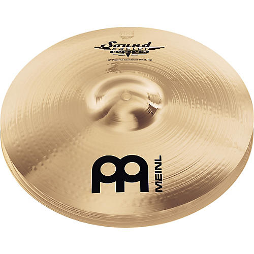 Meinl Soundcaster Custom Powerful Soundwave Hi-Hat Cymbals 14 in.