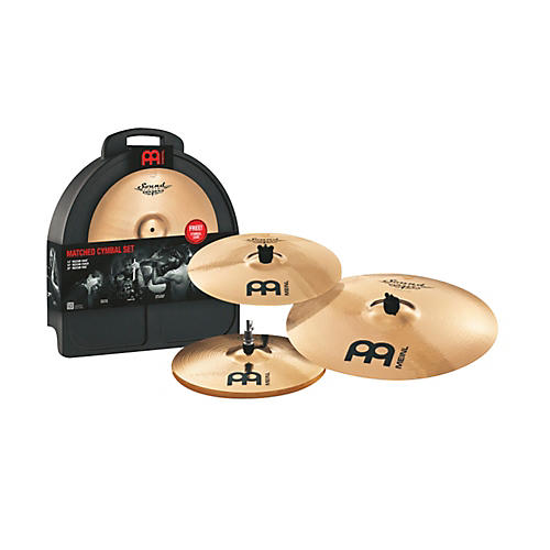 Meinl Soundcaster Custom Series Matched Cymbal Set-thumbnail