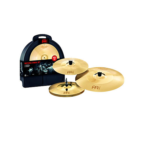 Meinl Soundcaster Fusion Cymbal Set with Free Professional Cymbal Case