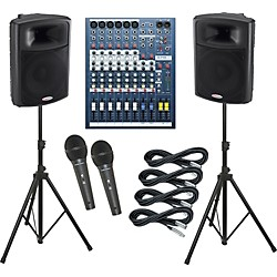 Soundcraft EPM6 / Harbinger APS15 PA Package