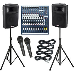 Soundcraft EPM8 / Harbinger APS15 PA Package