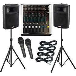 Soundcraft M12 / Harbinger APS15 PA Package