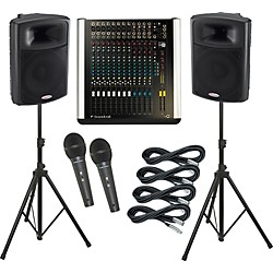 Soundcraft M8 / Harbinger APS15 PA Package