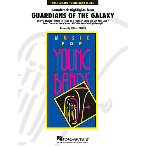 Hal Leonard Soundtrack Highlights from Guardians of the Galaxy - Young Concert Band Level 3