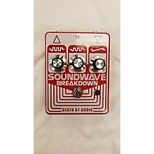 Death By Audio Soundwave Breakdown Effect Pedal