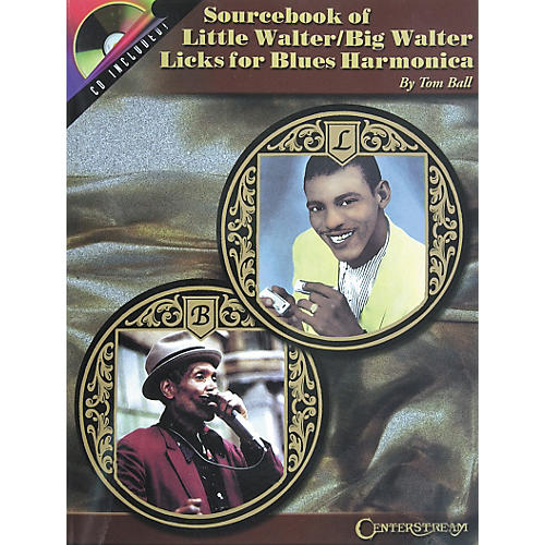 Centerstream Publishing Sourcebook of Little Walter/Big Walter Licks for Blues Harmonica Book with CD-thumbnail