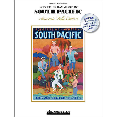 Hal Leonard South Pacific - Piano/Vocal Selections - Souvenir Folio Edition arranged for piano, vocal, and guitar (P/V/G)