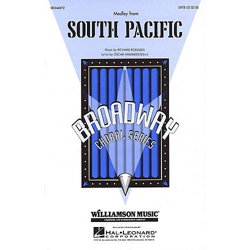 Hal Leonard South Pacific (Medley) SATB arranged by Clay Warnick