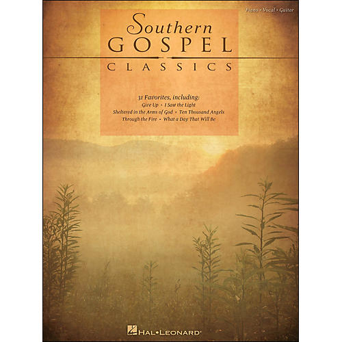 Hal Leonard Southern Gospel Classics arranged for piano, vocal, and guitar (P/V/G)