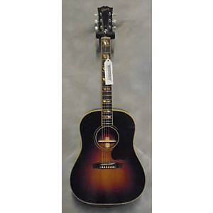 Pre-owned Gibson Southern Jumbo Aaron Lewis Signature Acoustic Electric Guitar by Gibson
