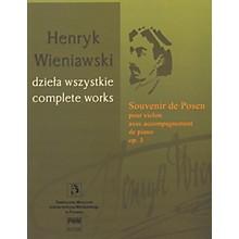 PWM Souvenir de Posen Op. 3 PWM Series Softcover Composed by Henryk Wieniawski