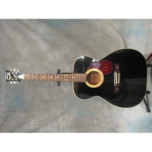 HARMONY Sovereign Acoustic Guitar Black