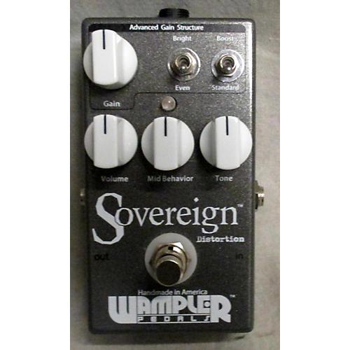 Wampler Sovereign Distortion Effect Pedal-thumbnail