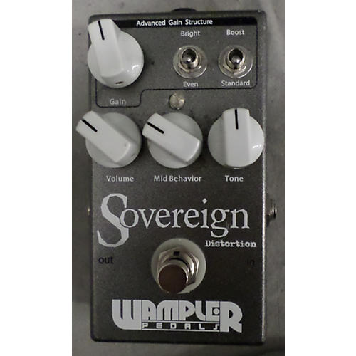 Wampler Sovereign Distortion Effect Pedal-thumbnail