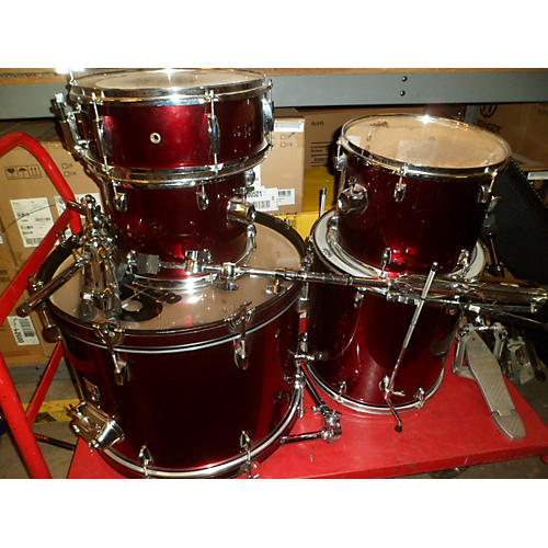 used cb percussion sp series 5pc drum kit guitar center. Black Bedroom Furniture Sets. Home Design Ideas