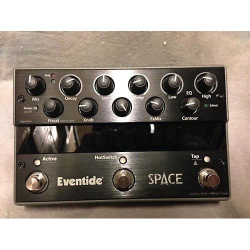 used eventide space reverb black effect pedal black guitar center. Black Bedroom Furniture Sets. Home Design Ideas