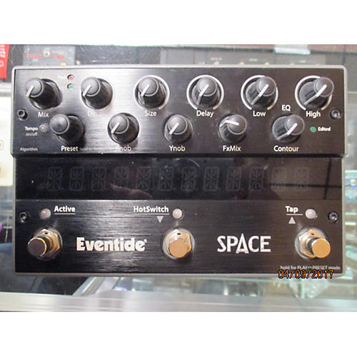 used eventide space reverb effect pedal guitar center. Black Bedroom Furniture Sets. Home Design Ideas