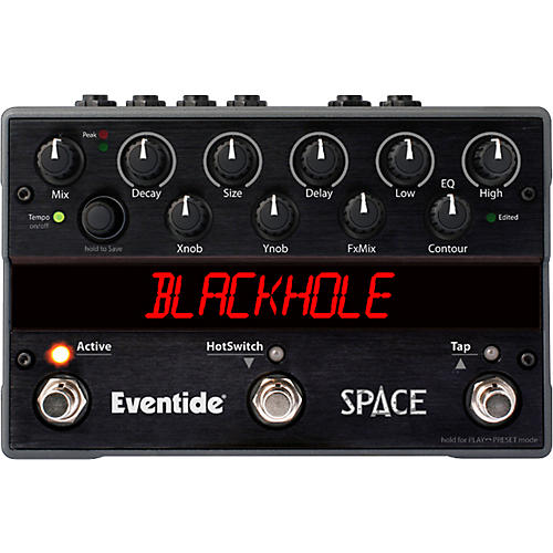 Eventide Space Reverb Guitar Effects Pedal