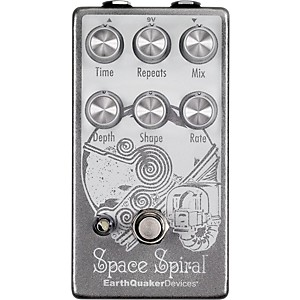 Earthquaker Devices Space Spiral Reverb Pedal by
