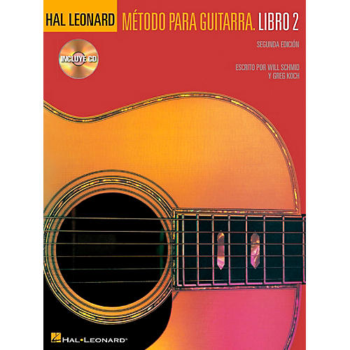 Hal Leonard Spanish Book 2 Book/CD Second Edition Hal Leonard Guitar Method-thumbnail