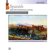 Alfred Spanish: Selected Favorites for Guitar - Book Intermediate