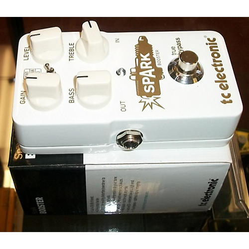 TC Electronic Spark Booster Effect Pedal-thumbnail