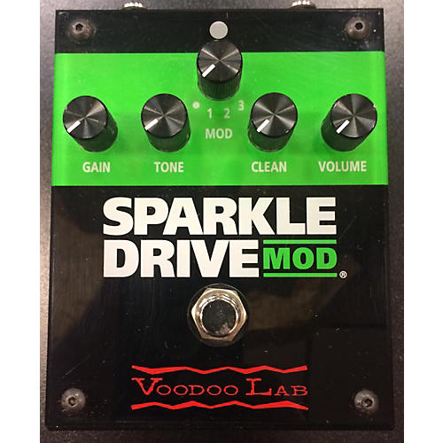 Voodoo Lab Sparkle Drive Mod Overdrive Effect Pedal-thumbnail