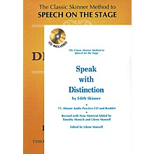 Applause Books Speak with Distinction (Book/CD/Booklet Package) Applause Acting Series Series Written by Edith Skinner
