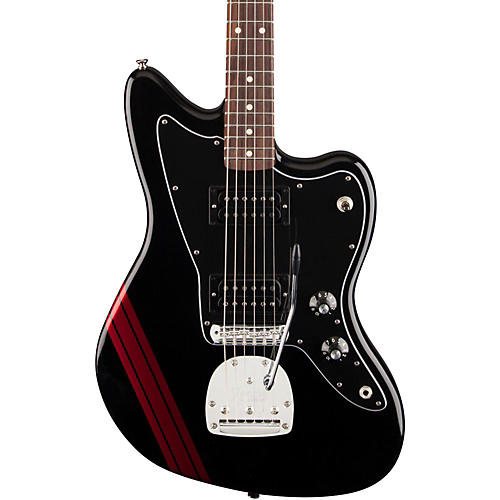 Fender Special Edition Blacktop HH Jazzmaster Electric Guitar-thumbnail