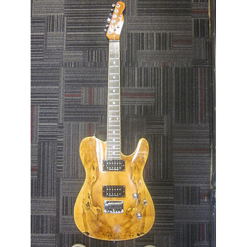 Fender Special Edition Custom Telecaster FMT HH Spalted Maple Solid Body Electric Guitar