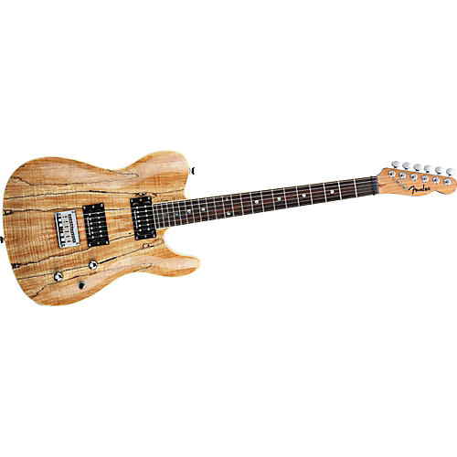 Fender Special Edition Custom Telecaster Spalted Maple HH Electric Guitar Spalted Maple