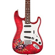 Special Edition David Lozeau Art Rosewood Fingerboard Stratocaster Electric Guitar
