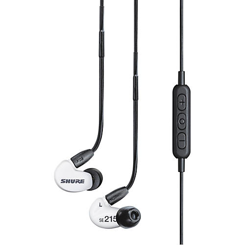 shure special edition se215 sound isolating earphones with bluetooth enable cable guitar center. Black Bedroom Furniture Sets. Home Design Ideas
