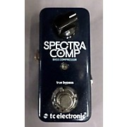 TC Electronic Spectra Comp Bass Effect Pedal
