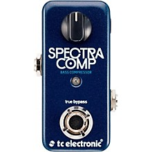 TC Electronic SpectraComp Bass Compression Pedal Level 1