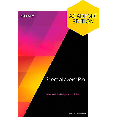 Magix SpectraLayers Pro 3 - Academic Software Download