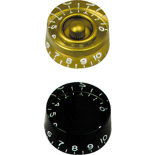 Gibson Speed Knobs Black 4-Pack-thumbnail