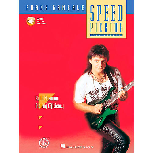 Hal Leonard Speed Picking - Frank Gambale (Book and CD Package)
