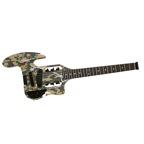 Traveler Guitar Speedster Camouflage Electric Guitar-thumbnail
